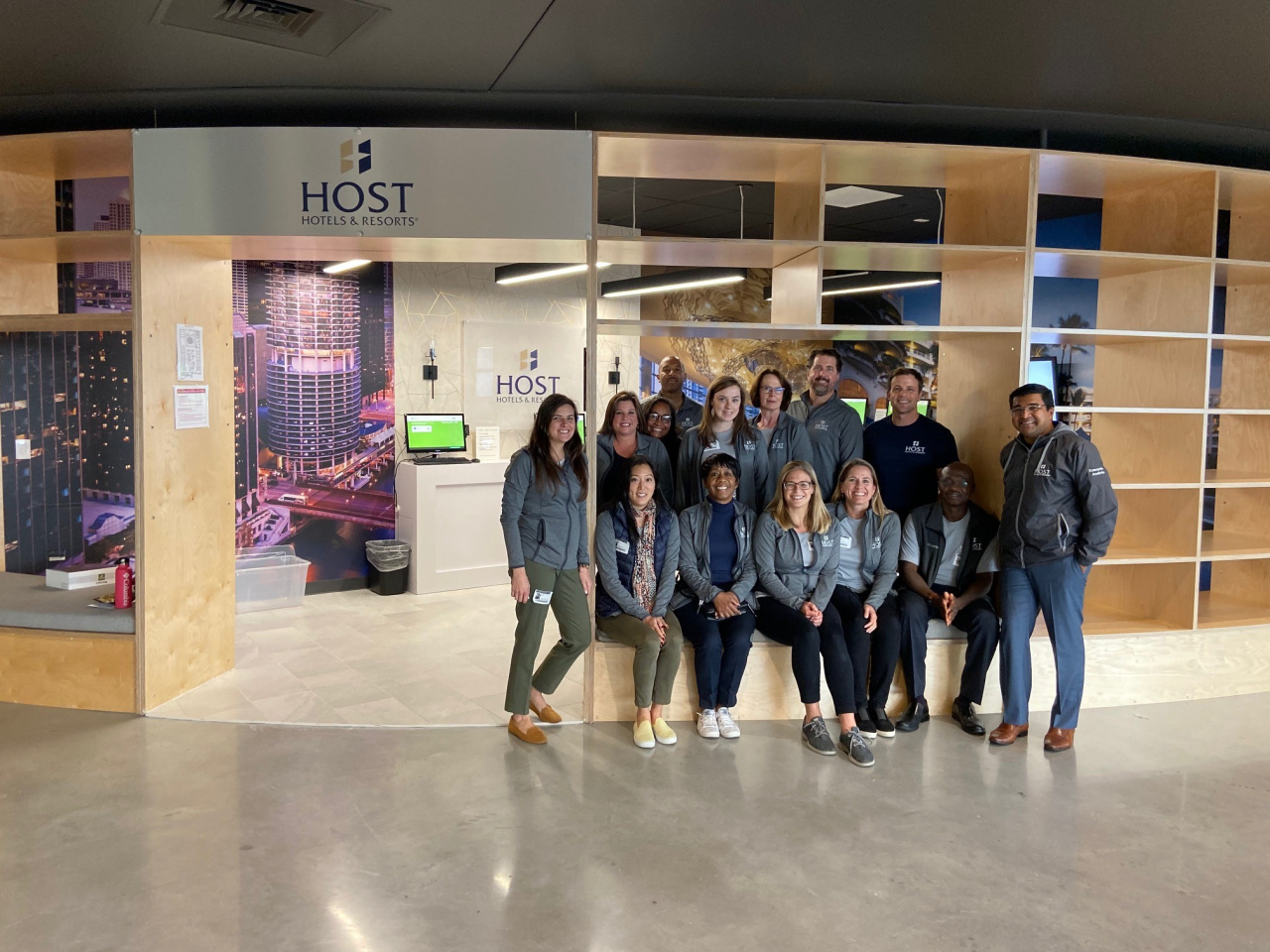 Host employees visited Junior Achievement's Finance Park in Montgomery County