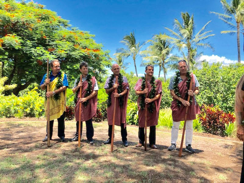 Andaz Maui at Wailea Resort Blessing Ceremony