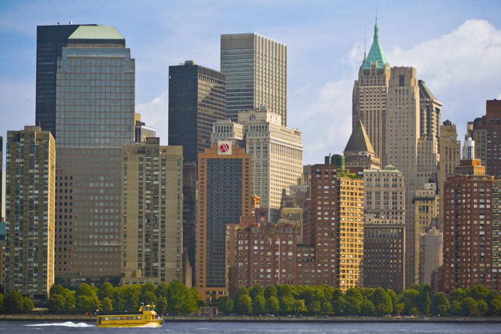 """View of the hotel from across the Hudson River""""Most Commonly Used"""" property view"""