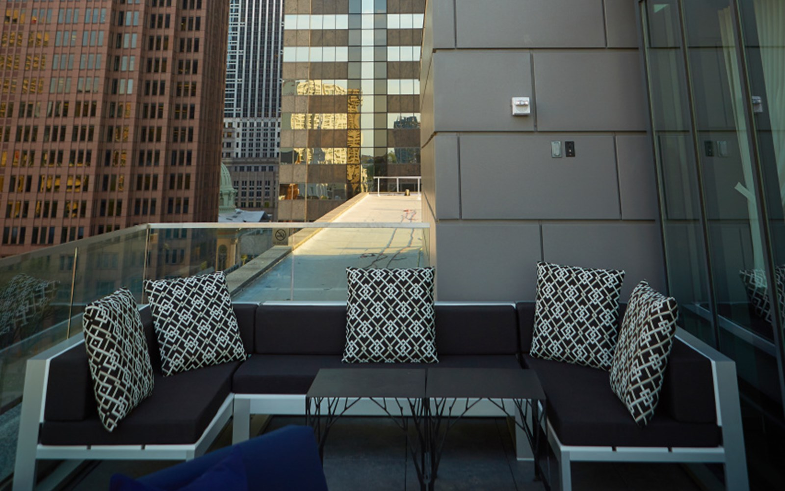 Assembly Rooftop bar and lounge with views of Philadelphia