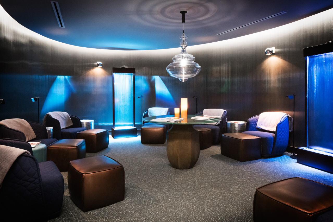 Relaxation room in the Spa